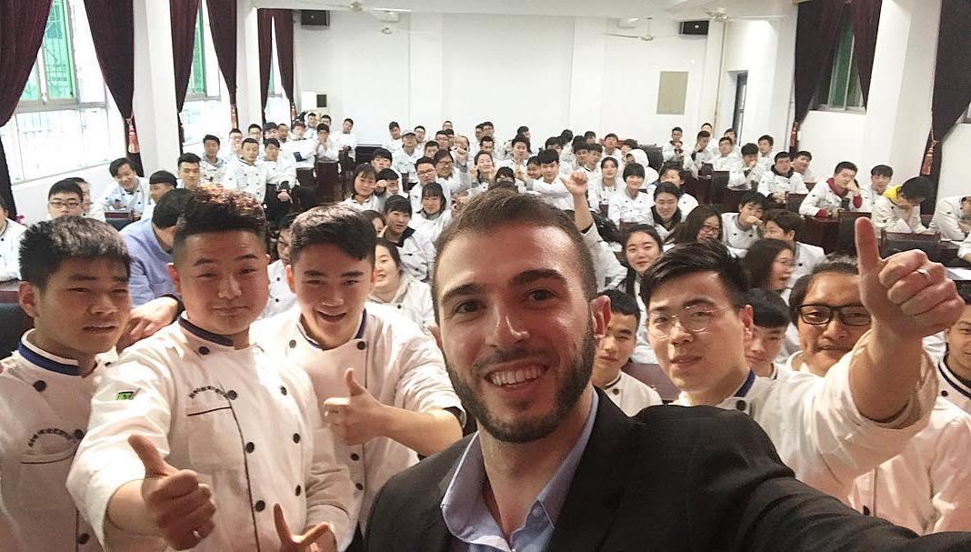 烹饪学院招聘会